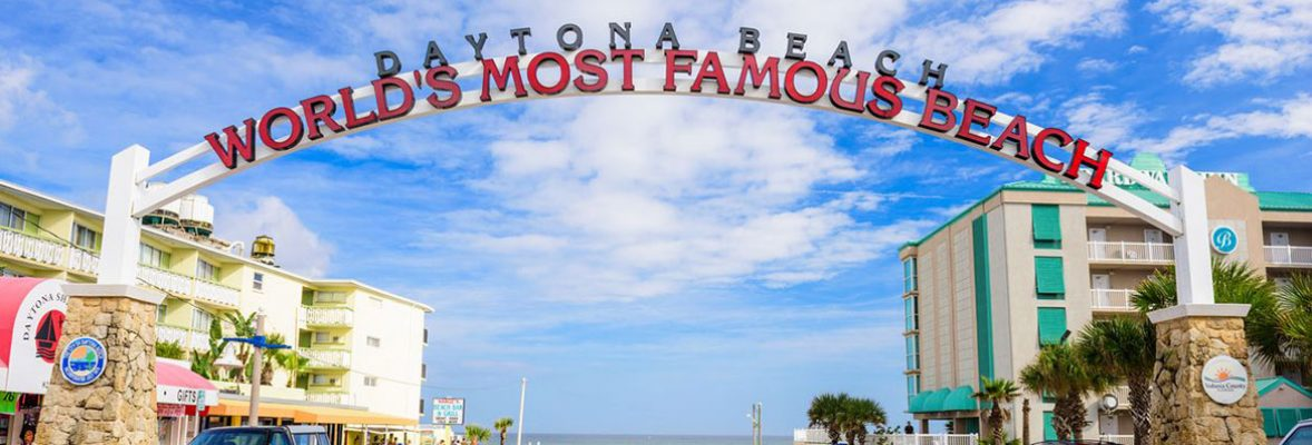 Welcome to Daytona Beach Sign